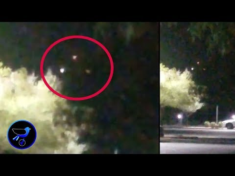 Triangular UFO spotted over Phoenix! Oct 18,2019