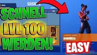 SEASON 8 Battle Pass LEVEL 100 'TRICK! FAST Niveau 100! Fortnite Saison 8 Niveau 100
