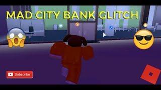 MAD CITY 2 EPIC GLITCHES *Bank Glitch* ( Roblox )