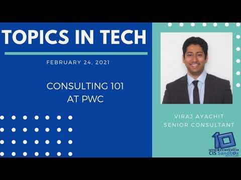 Viraj Ayachit (PwC) - Topics in Tech