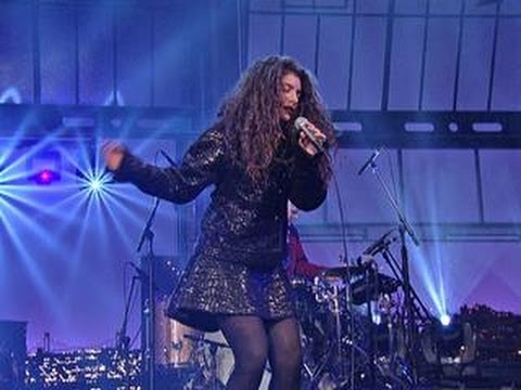 Live On Letterman - Lorde: Ribs