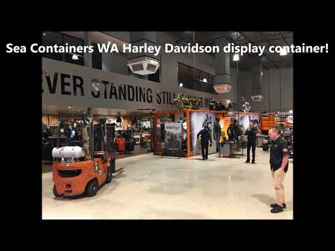 Perth Harley Davidson collaborates with Sea Containers WA