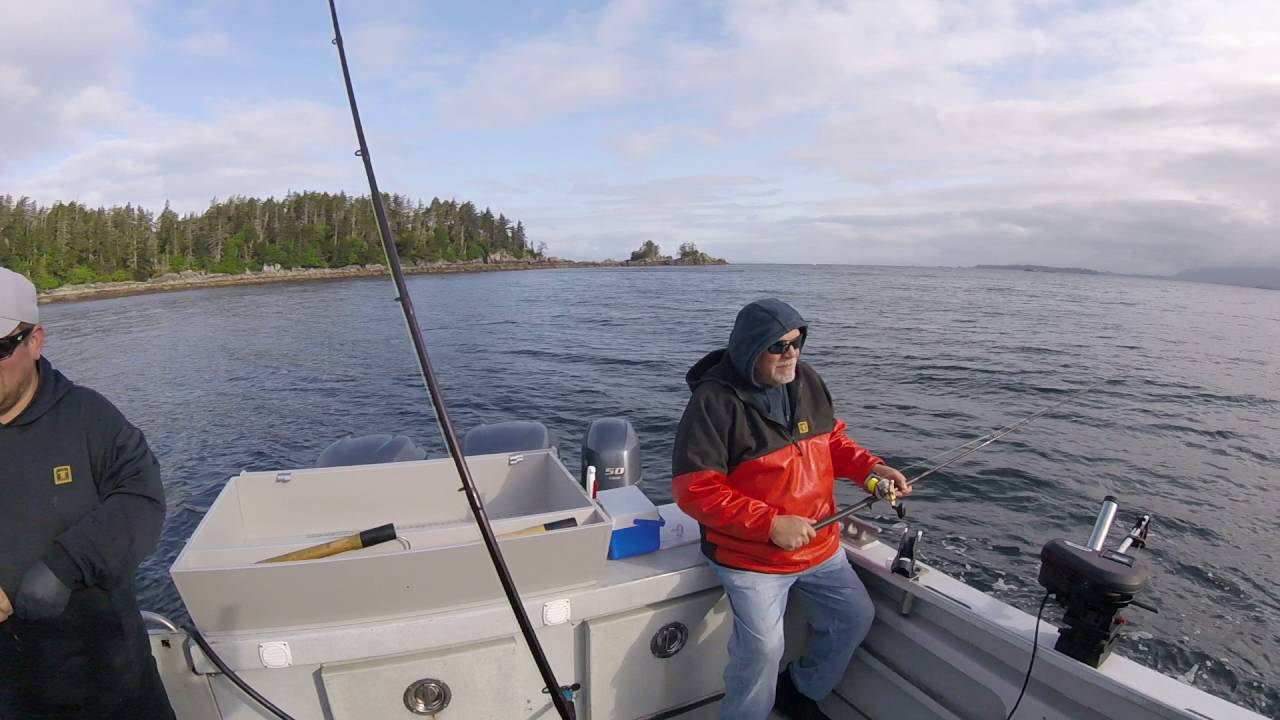 King salmon fishing sitka ak youtube for Sitka fishing report