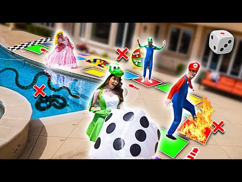 WORLD'S BIGGEST IN REAL LIFE BOARD GAME!! (WINNER GETS $10,000)