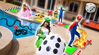 Download WORLD'S BIGGEST IN REAL LIFE BOARD GAME!! (WINNER GETS $10,000) Mp3 and Videos