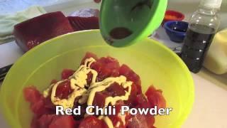 Amber's Kitchen: Spicy Ahi Poke (spicy Tuna)