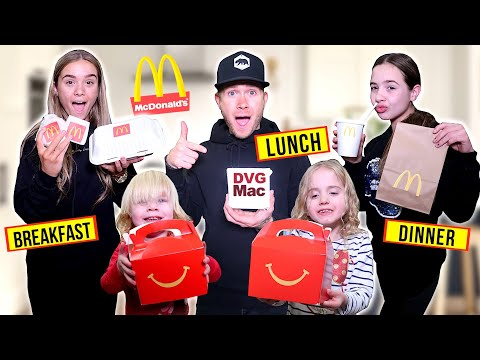 We RECREATED The ENTIRE McDONALDS MENU! *Breakfast Lunch & Dinner