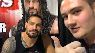 Meeting Roman Reigns (Chicago, IL) | Brandon Hodge Vlog #46