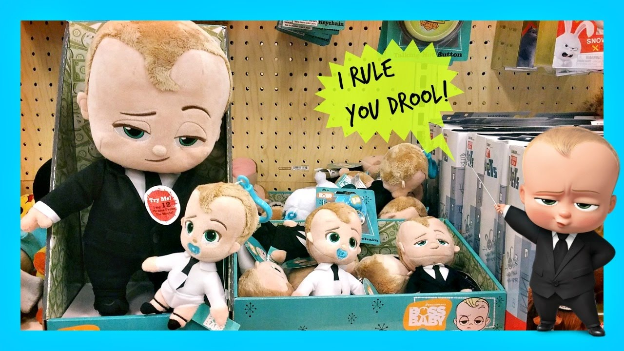 DreamWorks The BOSS BABY Toys At Target TOY HUNTING 2017 ...