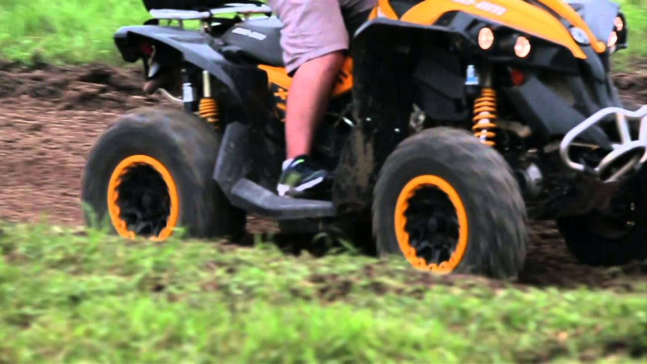 Polaris Scrambler 850 >> Can-Am Renegade 1000 vs Polaris Scrambler XP 850 HO - YouTube
