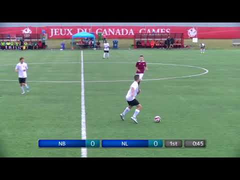 2017 Canada Summer Games - Men's Soccer - New Brunswick vs. Newfoundland