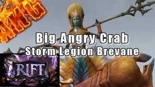 Rift Storm Legion - Brevane: The Pithos of Anger + A Big Angry Crab