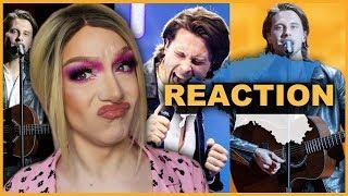 ESTONIA - Victor Crone - Storm - LIVE   Eurovision 2019 Reaction