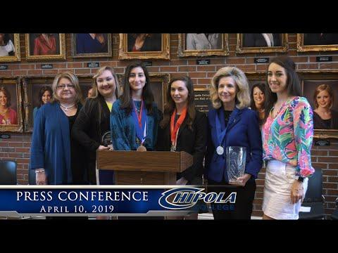 Chipola College Press Conference 2019