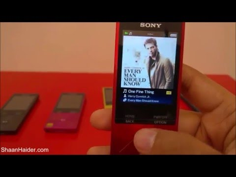 Sony Walkman NW-A26HN : Detailed Hands-on Review