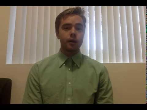 Matt Joseph Tell me about yourself speech