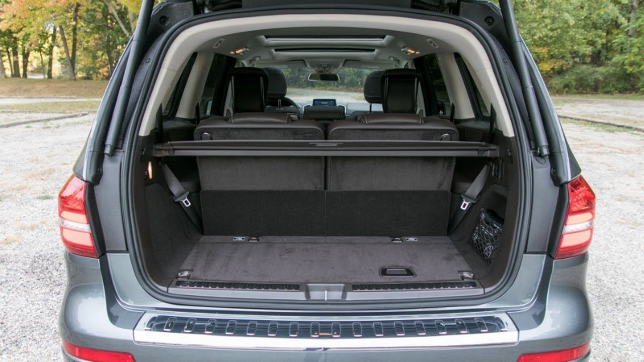 2018 Mercedes Benz Gls Class Cargo Space And Storage Review