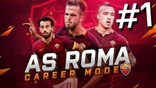 FIFA 16 AS Roma Career Mode - NEW SEASON STARTS WITH 6 NEW TRANSFERS! - S2E1