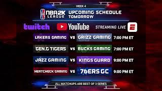 NBA 2K League Season 3 Week 4 | Day 2