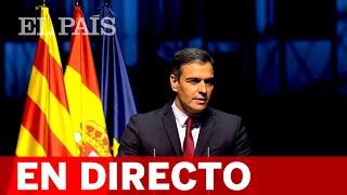 DIRECTO #CATALUÑA   Conferencia de SÁNCHEZ: 'Reencuentro: un proyecto de futuro para toda España'