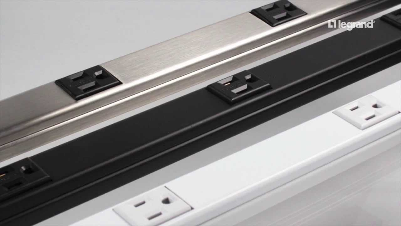Under Cabinet Plugs Counter Strip Plug Molding For. Wiremold Experience The  Plugmold Multi Outlet System You