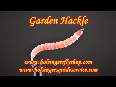 Garden Hackle, Holsinger's Fly Shop