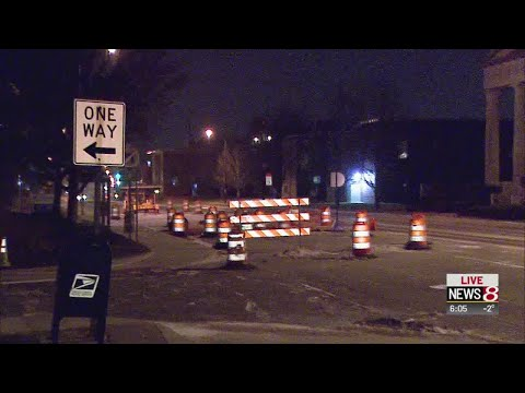 Drivers, bus riders out on Meridian Street