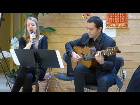 Aubrey Johnson & Cesar Garabrini Duo #2 - Two Bridges Concert Series