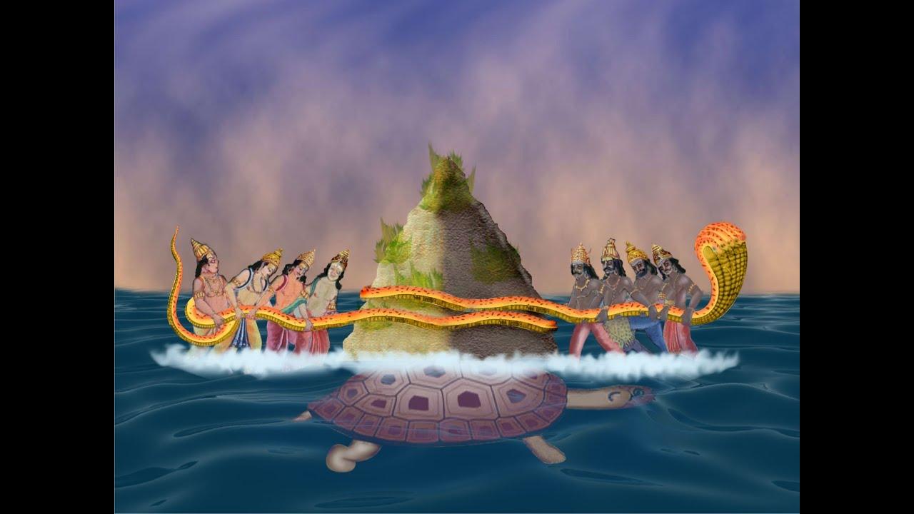 Hindu God Animation Wallpaper Free Samudra Manthan For Corporate Teamwork Youtube