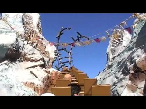 Expedition Everest - FULL RIDE - Disney's Animal Kingdom Theme Park January 2009 Rollercoaster