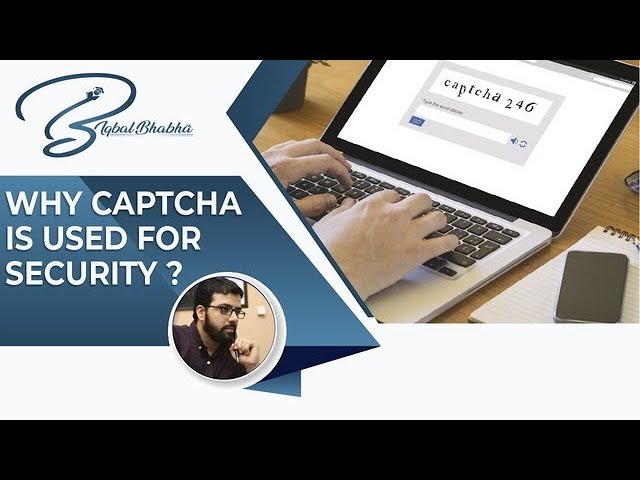 What is CAPTCHA and DDoS Attack | Muhammad Iqbal Bhabha