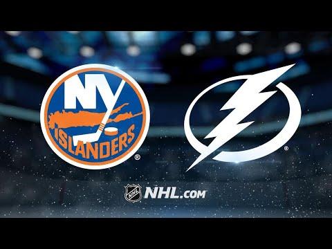 Lee's two goals power Islanders past Lightning, 5-3