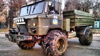 видео ГАЗ 66 - тюнинг кузова, салона, двигателя, подвески
