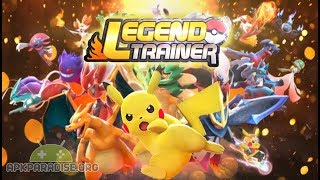 Legend Trainer (Pokemon MOBA Game) Android Gameplay