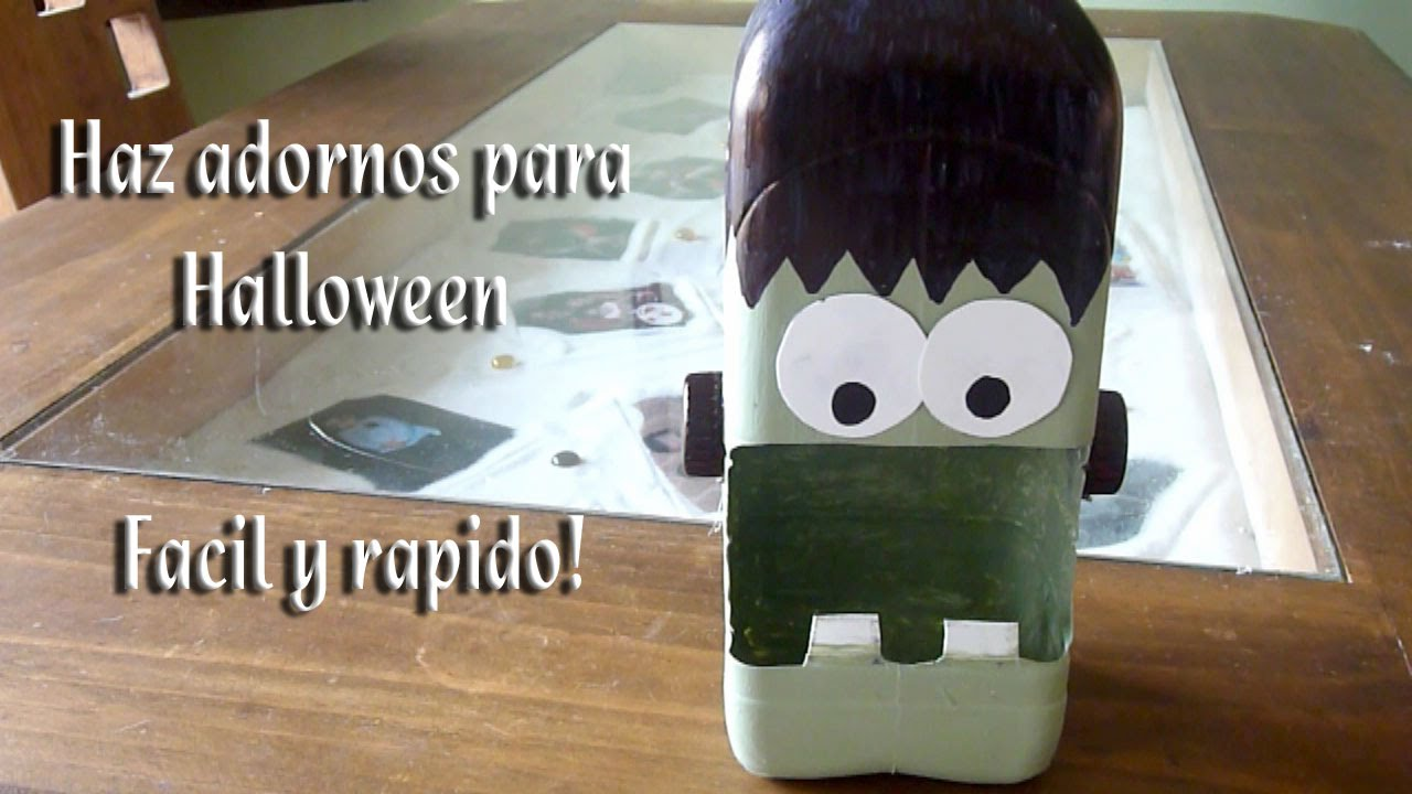 Como hacer adornos para halloween rapidos y baratos youtube for Como hacer decoraciones de halloween
