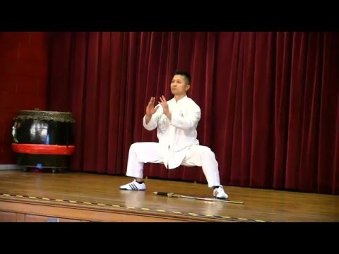Chinese New Year Tai Chi Inspired Kung Fu Dance - Sifu Freddie Lee - Feb 12 2016