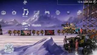 Motorstorm Arctic Edge Dynamic Theme