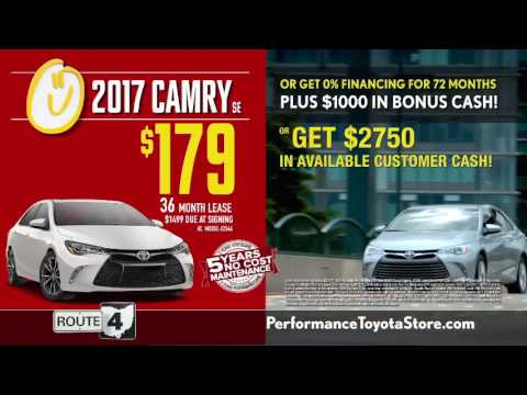 Lease or Finance Specials on 2017 Toyota Camry Cincinnati