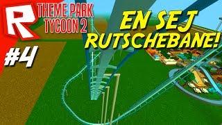 EN MEGA SEJ RUTSCHEBANE! - Roblox Theme Park Tycoon 2 Dansk Ep 4