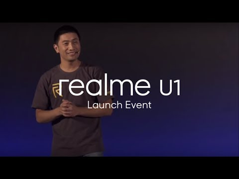 Realme U1 Launch Event