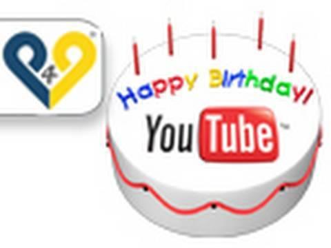 Feliz Cumpleanos Youtube Quinto Aniversario Youtube
