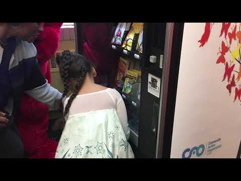 Valentine In The Morning - This School Installed A Book Vending Machine!