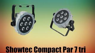 Showtec Compact Par 7 tri LED spot