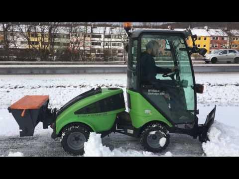 Egholm City Ranger 2200,  Schneeschild, Streuer