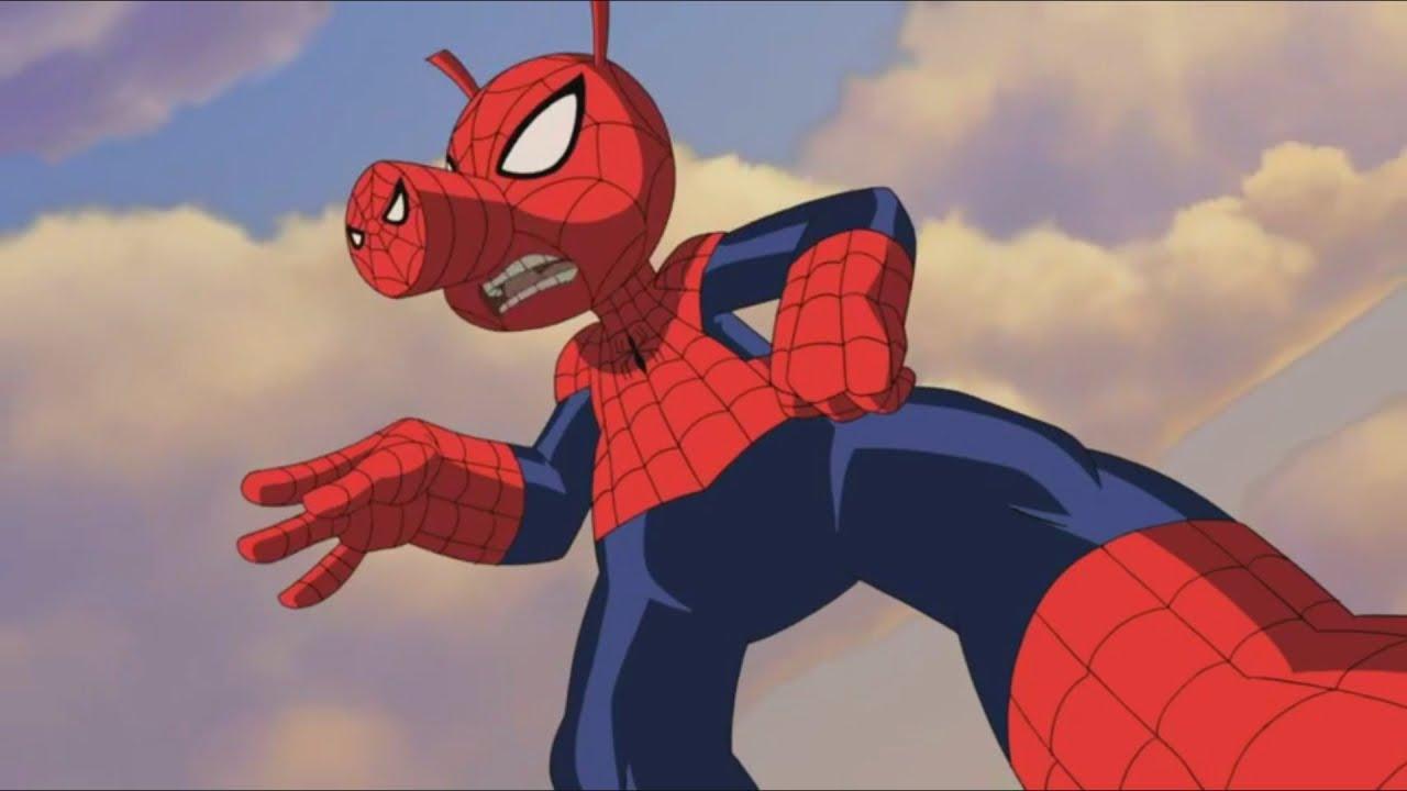 Великий Человек-паук — Беги, Хряк, беги — Сезон 1, Серия 20 | Marvel