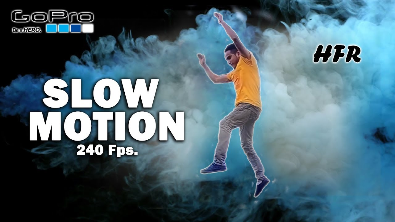 GoPro Hero 6 Black, Slow Motion 1080p 240fps. - YouTube