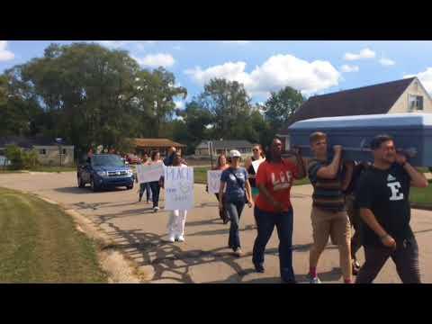 March brinks message of peace to Ypsilanti Township neighborhood