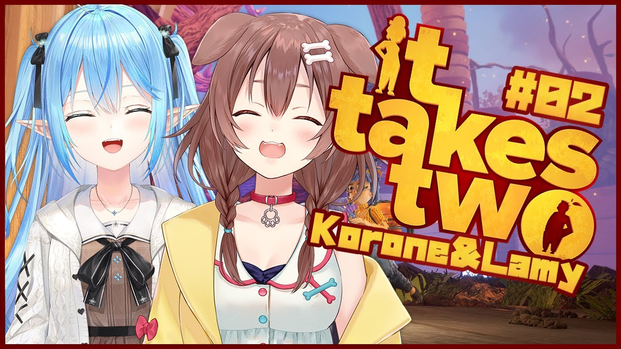 [It Takes Two]The second half!  !!  Aim to clear with two people!  !!  !![#Kororami / Holo Live]