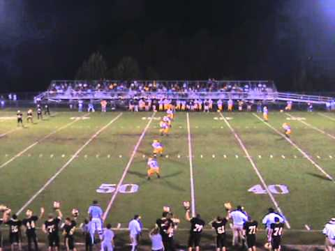 Hayesville High School vs. Cherokee High School Football 2009 Part 1