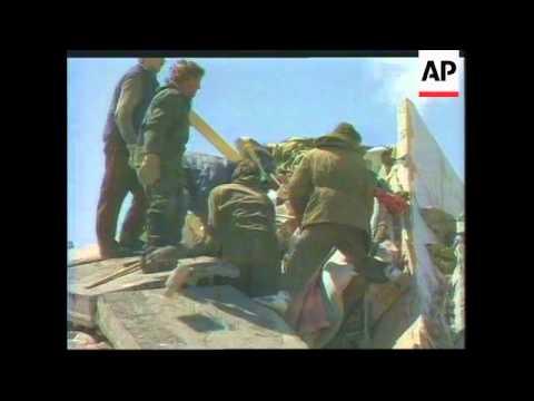 Russia - Sakhalin Earthquake Search For Survivors